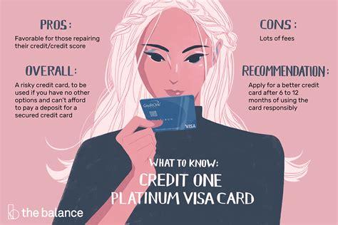 credit  bank visa platinum card review  options
