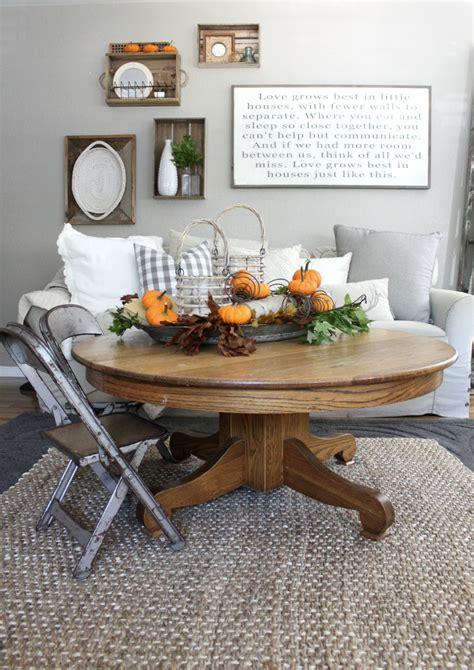 fall family room  inspired nest
