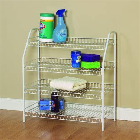 Closetmaid Shoe Rack - closetmaid 8131 4 tier freestanding shoe rack white new