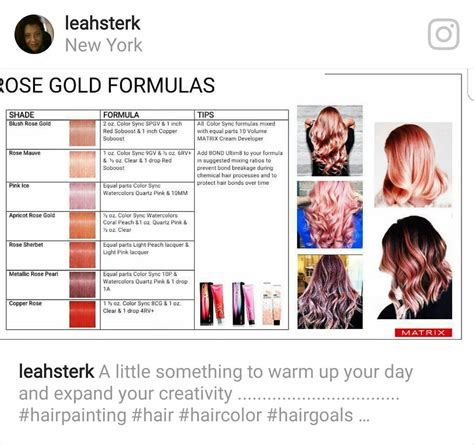 matrix color formulas taking gold formulas to the limit matrix color in