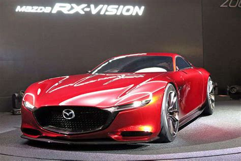Next Gen Mazda Rotary Engine Equipped Sports Car
