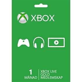 Xbox live 1 year card. Microsoft Xbox Live Gold 1 Month Card - Hitta bästa pris på Prisjakt