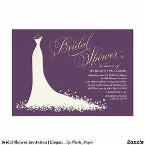 invitations bridal rectangle landscape purple white dress With evening wedding invitations vistaprint