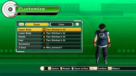 Goku Absalon Clothes for CAC | Xenoverse Mods