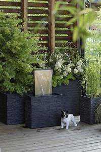 pot de fleur les plus beaux et deco design comment et With amenagement terrasse exterieure appartement 5 bambou en pot brise vue naturel et deco sur la terrasse