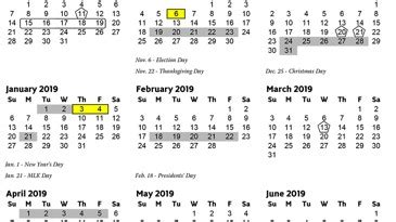 cobb county schools calendar