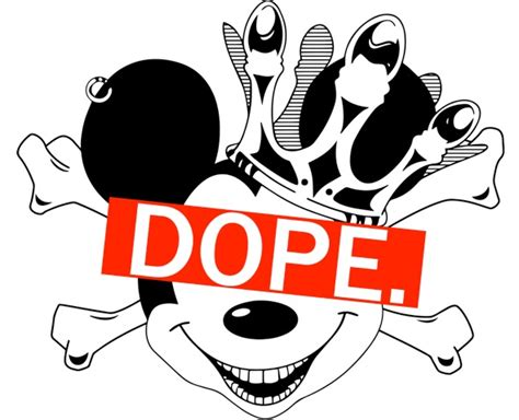 Dope Mickey By Zanebolen On Deviantart