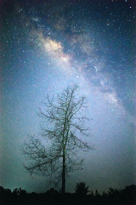 Milky Way Night Cosmos Universe Milkyway Astronomy