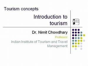 01 Introduction To Tourism