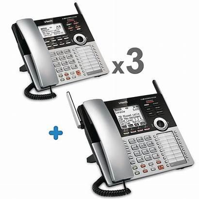 Line Phone System Phones Office Bundle Vtech