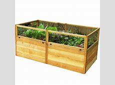Outdoor Living Today 6 ft x 3 ft Cedar Raised Garden Bed