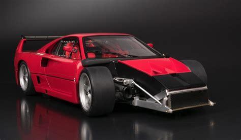 Ferrari F40 LM Scale Model Cars