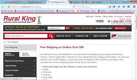 code promo king vert 23 rural king coupon code 2017 rural king code dealspotr