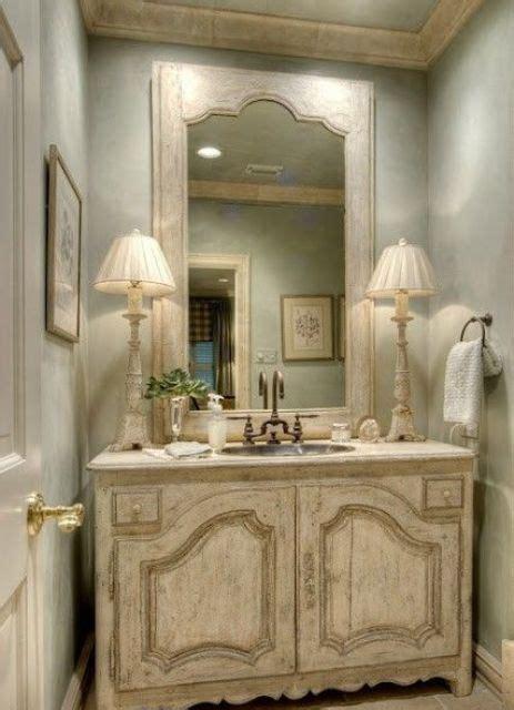 vintage  shabby chic vanities   bathroom