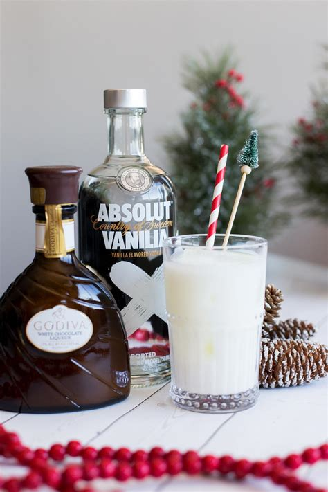 winter wonderland cocktail white chocolate cocktail