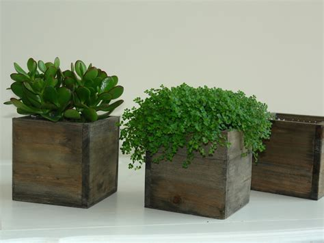 wooden plants wood box wood boxes woodland planter flower box rustic pot