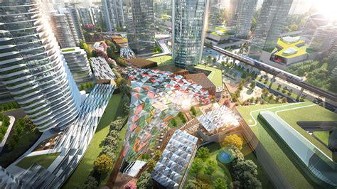 shenzhen metro changzhen depot tod master plan  woods bagot hong kong