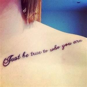Collar Bone Tattoo Quotes. QuotesGram