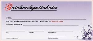Gutscheine Online Erstellen : gutschein daniela over ~ Eleganceandgraceweddings.com Haus und Dekorationen