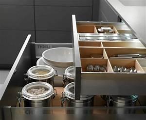 Amenagement Tiroir Cuisine : cr er sa cuisine fonctionnelle avec ces astuces rangement ~ Edinachiropracticcenter.com Idées de Décoration