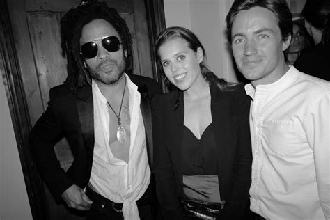 Lenny Kravitz Photo Exhibition Princess Beatrice Eva
