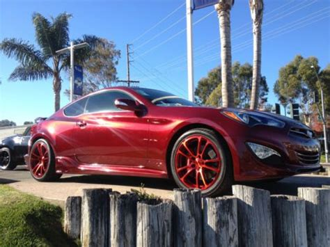 purchase   genesis coupe  track custom fast