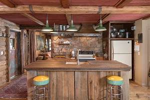 cocinas rusticas los mejores ejemplos del estilo With kitchen colors with white cabinets with rustic outdoor wall art