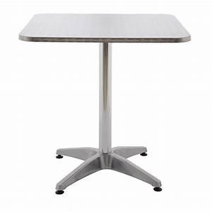 Table De Jardin Bistrot : table alu bistrot achat vente tables aluminium rotin design ~ Teatrodelosmanantiales.com Idées de Décoration