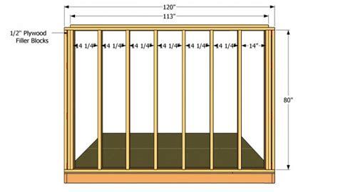 saltbox shed plans myoutdoorplans free woodworking