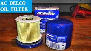 Ac Delco Prefessional Oil Filter Review And Specs