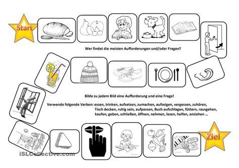 Aufforderungen Und Fragen Bilden  Studentcentered Resources, Worksheets And Und