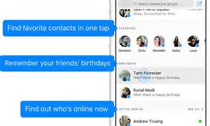Facebook's New Look Messenger App Includes A 'home