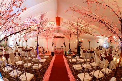 Your Wedding Support: GET THE LOOK Cherry Blossom Themed