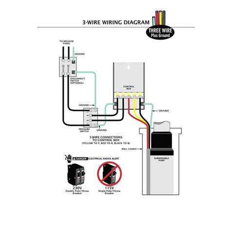 220 3 Wire Wiring Diagram Well by How To Wire A Well Diagram Wellread Me