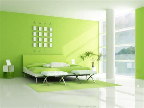 simple green white bedroom interior design 2019 ideas