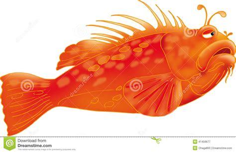 Vector Llustration 3d Redfish Ai Eps Stock Vector