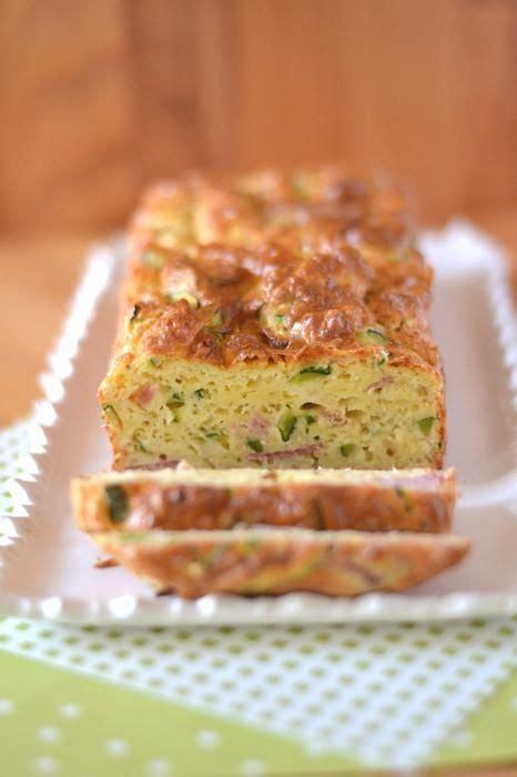 cake courgettes lardons recettes de cuisine cake