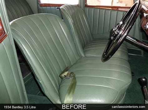 classic bentley interior bentley restoration reupholster bentley upholstery