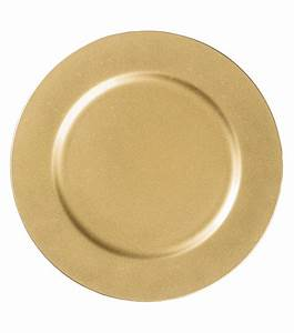 13'' Gold Charger Plate at Joann com