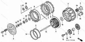 Honda Atv 2005 Oem Parts Diagram For Clutch