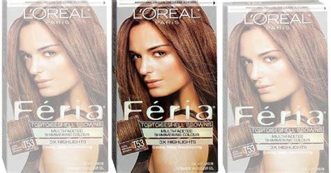 New /1 L'oreal Feria Hair Color Coupon Plus Cvs, Target