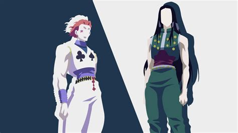 hunter  hunter hisoka morow illumi zoldyck hd anime