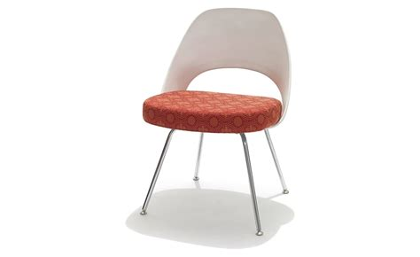 chaise saarinen saarinen plastic back side chair hivemodern com