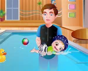 Baby Hazel Time Swimming
