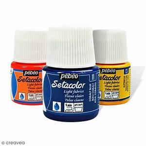 Peinture Pour Tissu Canapé : peinture tissu setacolor p b o tissus clairs 45 ml ~ Premium-room.com Idées de Décoration