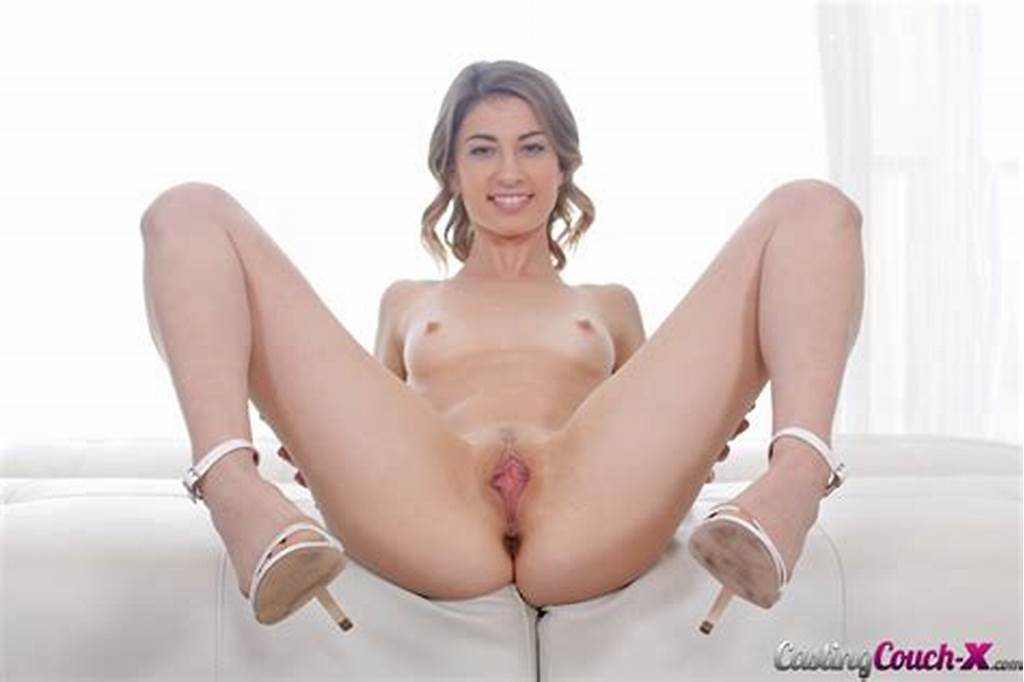 #Skinny #Teen #Kristen #Scott #On #The #Casting #Couch #At