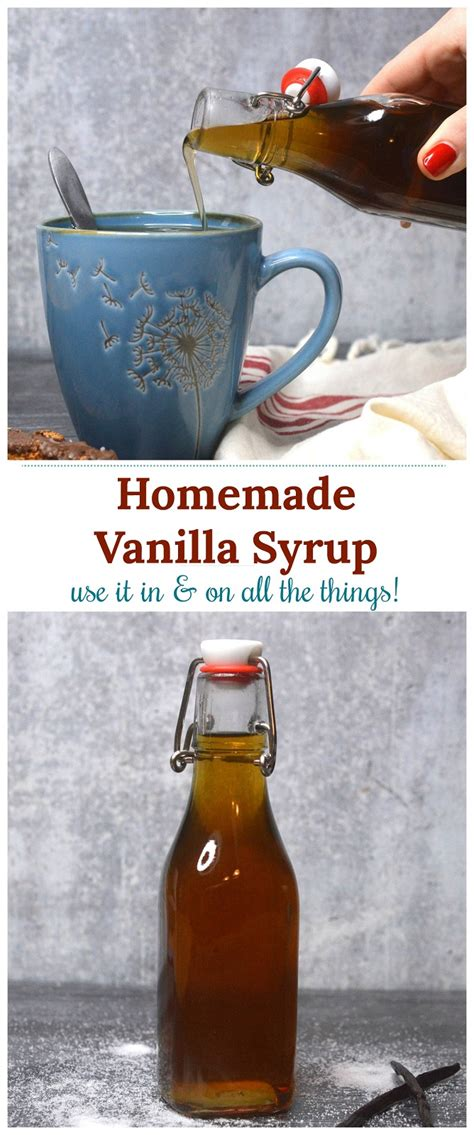Follow these short steps, and you will have some fresh coffee syrup to drizzle onto cookies, ice cream, or other comestibles worth coffee syrup. Homemade Vanilla Syrup For Coffee