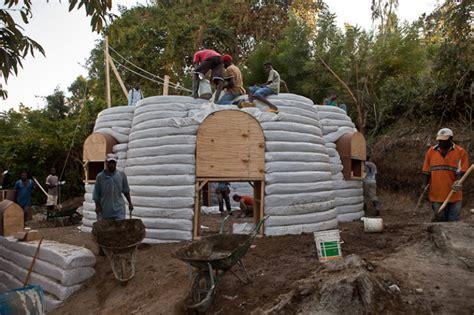 Konbit Super-adobe Shelters Are Helping A Rural Haitian