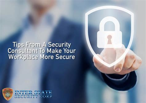 security consultant     workplace