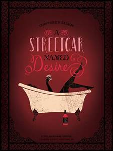 A Streetcar Named Desire Play Poster
